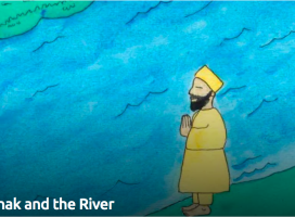 Guru Nanak and the River